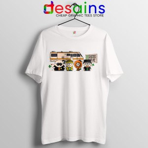 Breaking Bad Characters Animated T Shirt South Park