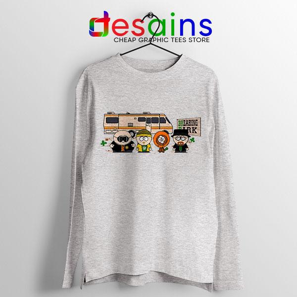 Breaking Bad Park Sport Grey Long Sleeve Tee Funny South Park