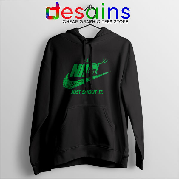 Knights Who Say Ni Hoodie Nike Just Shout It