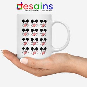 Mickey Mouse Flipping You Off Mug Disney Funny