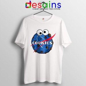 NASA Space Cookies T Shirt Funny Old Logo