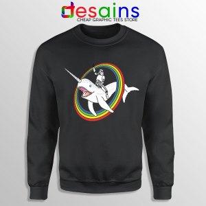 Stormtrooper Pride Rainbow Sweatshirt Narwhal LGBT