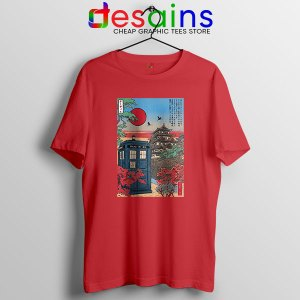 Tardis Blue Paint Japan Red T Shirt Doctor Who BBC