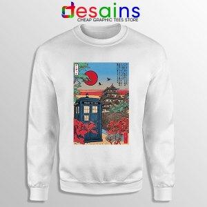 Tardis Blue Paint Japan Sweatshirt Doctor Who BBC