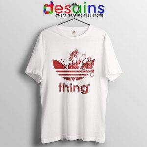 The Thing Outpost 31 Adidas White T Shirt John Carpenter