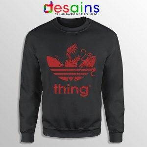 Thing Outpost 31 Adidas Black Sweatshirt John Carpenter