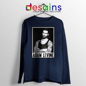 Best Adam Levine This Love Navy Long Sleeve Tee Maroon 5