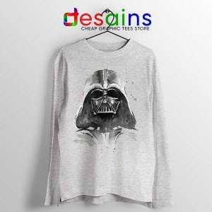 Best Darth Vader Paint Sport Grey Long Sleeve Tee Anakin Skywalker