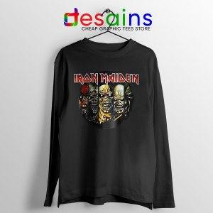 Best Iron Maiden Album Covers Long Sleeve Tee Heavy Metal