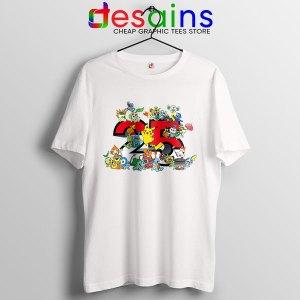 Best Pokémon Universe T Shirt 25th Anniversary