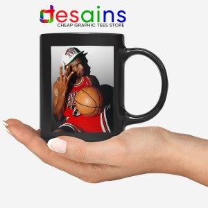 Best Three Point Jordan Black Mug
