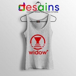 Black Widow Marvel Adidas Sport Grey Tank Top Cheap Apparel