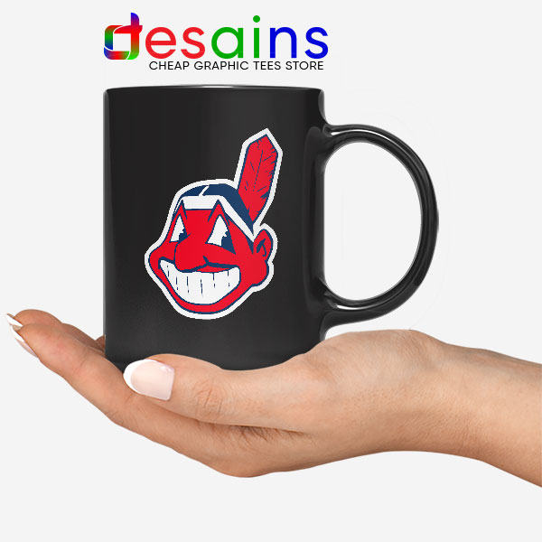 Buy Chief Wahoo Logo Mug Cleveland Indians MLB