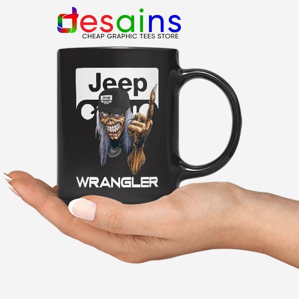Buy Jeep Maiden Skull Mug Wrangler Heavy Metal