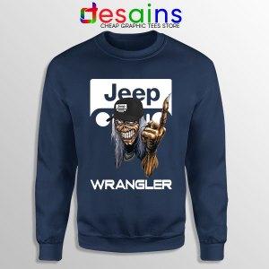 Buy Jeep Maiden Skull Navy Sweatshirt Wrangler Heavy MetalBuy Jeep Maiden Skull Navy Sweatshirt Wrangler Heavy Metal