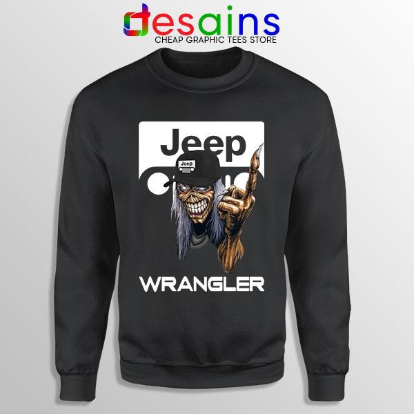 Buy Jeep Maiden Skull Sweatshirt Wrangler Heavy Metal