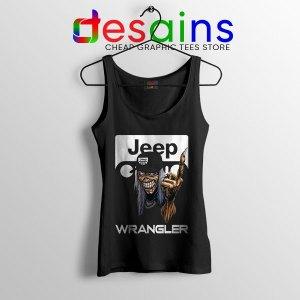Buy Jeep Maiden Skull Tank Top Wrangler Heavy Metal