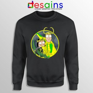 Classic Loki Rick Sanchez Sweatshirt Variant TVA