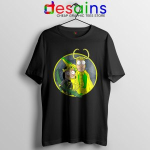 Classic Loki Rick Sanchez T Shirt Variant of Loki