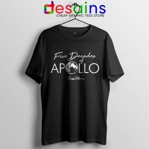 Five Decades of Apollo T Shirt Elon Musk