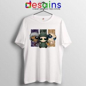 Glass Film Powerpuff Girls T Shirt Cartoon Split