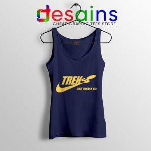 Go Boldly Star Trek Nike Navy Tank Top Just Do It