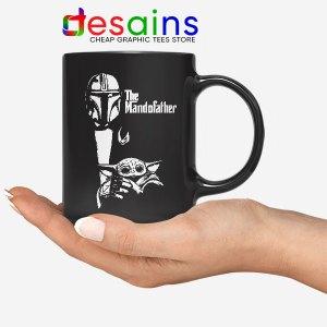 Mandalorian The Godfather Mug Mando Parody