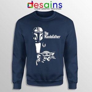Mandalorian The Godfather Navy Sweatshirt Mando