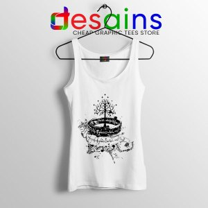 Tree of Gondor Middle Earth Tank Top Shadow of Mordor