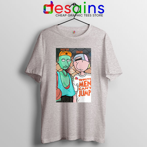 Best Doug Animated Series Sport Grey T Shirt Doug Can't jump