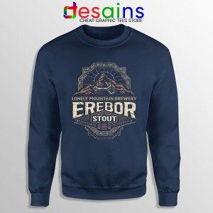 Buy Lonely Mountain Hobbit Navy Sweatshirt Erebor Thror