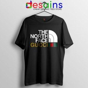 Cheap North Face Gucci Black T Shirt Funny Apparel