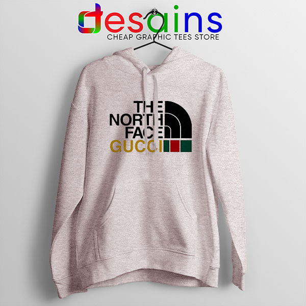 Cheap North Face Gucci Sport Grey Hoodie Funny Apparel