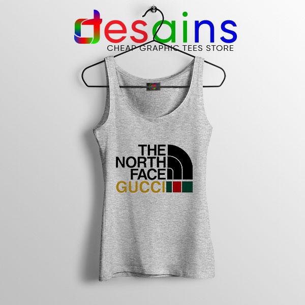 Cheap North Face Gucci Sport Grey Tank Top Funny Apparel