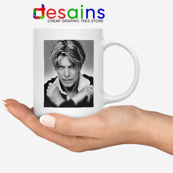 David Bowie Eyes Color Mug Album Cover