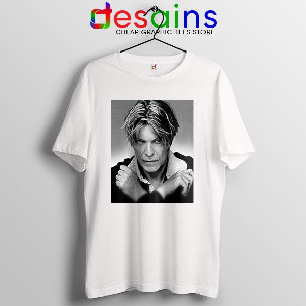 David Bowie Eyes Color T Shirt Album Cover