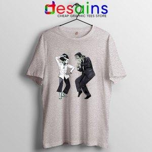 Frankenstein Wife Pulp Sport Grey T Shirt Dance Monster