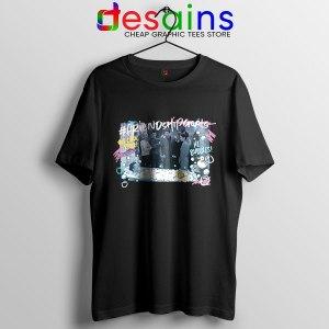 Friends Tv Show Bathroom Black T Shirt Chandler Bath