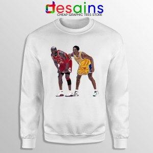 Kobe Jordan Real GOAT Sweatshirt NBA Legend