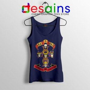 Loki Appetite for Destruction Navy Tank Top Guns N Roses