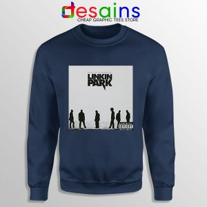 Minutes to Midnight Cover Art Navy Sweatshirt Linkin Park