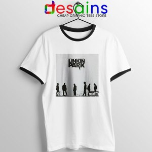 Minutes to Midnight Cover Art Ringer Tee Linkin Park