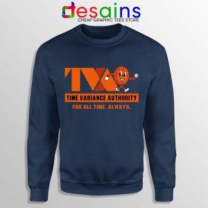 Miss Minutes TVA Loki Navy Sweatshirt Marvel Merch