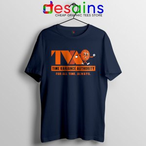 Miss Minutes TVA Loki Navy T Shirt Marvel Merch
