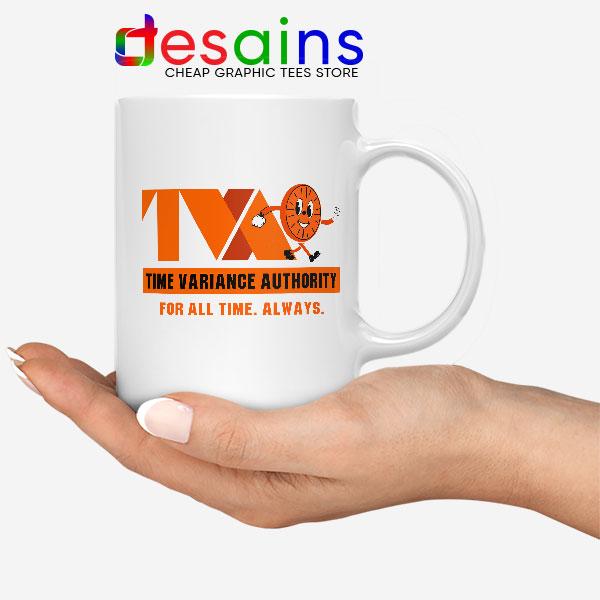 Miss Minutes TVA Loki White Mug Marvel Merch