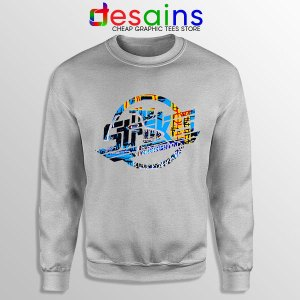 New Abnormal The Strokes Sport Grey Sweatshirt Album Art