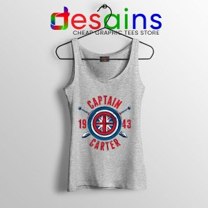 Shield Captain Carter Sport Grey Tank Top What If Series