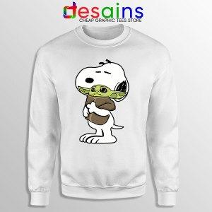 Snoopy Baby Yoda Friends Sweatshirt Mandalorian