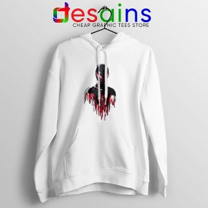 Spider Man Into Multiverse WHite Hoodie Marvel Comics