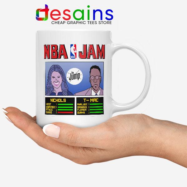 The Jump NBA Finals White Mug Rachel Nichols TMac
